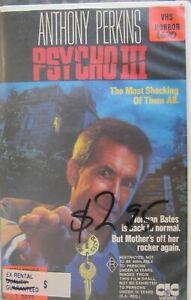 Psycho 111 VHS- Anthony Perkins - Horror
