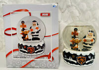 Chicago Bears Forever Collectibles NFL Team Water Snow Globe Santa Reindeer Xmas