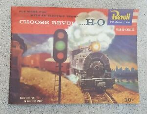 VINTAGE 1959 REVELL HO ELECTRIC TRAIN CATALOG