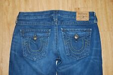 "True Religion Billy Mid-Rise Straight Leg Jeans Women's Size 29 x 34"""
