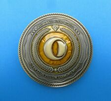 OLIGHT Yellow Diamond Challenge Coin Rare Limited Edition Collectors Item