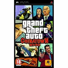 Grand Theft Auto: Chinatown Wars [Sony PlayStation Portable PSP, Region Free]