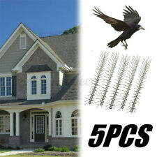 5PCS 50cm Anti Bird Spikes Stainless Steel Pest Strips Pigeons Control Deterrent