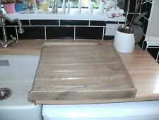 BELFAST KITCHEN SINK DRAINER OAK STAINED AND  VARNISHED