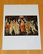 THE ART BOOK POSTCARD ~ 'SPRING' C1478 BY SANDRO BOTTICELLI ~ NEW