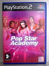 POP STAR ACADEMY - PLAYSTATION 2 - PAL ESPAÑA - COMPLETO