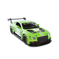 Bentley Continental GT3 Racing Car 1/32 Model Car Diecast Gift Toy Kids Green