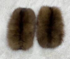 BARGUZIN Russian Sable Real Fur Coat Jacket Cuffs