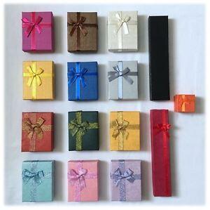 Jewellery Gift Boxes Rings Bracelet Earrings Necklace Wedding Christmas Birthday