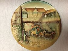 Vintage Chalkware By W H Bossons Limited Edition Wall Plate Plaque Made In Engla