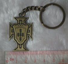 kiTki Portugal metal badge football soccer keychain key chain ring souvenior