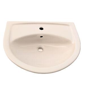 Vitra Waschtisch farbige Keramik optional mit Lotus, 600 x 465 mm Farbe beige