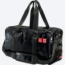 Uniqlo Kei Nishikori Boston Bag Enamel Black Tennis Australian Op New From Japan