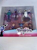 Disney Junior Vampirina The Vamp Lot of 6 Playset Toppers & Action Figures BNIP