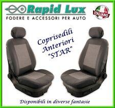 """Coppia fodere coprisedili anteriori Star per Toyota Yaris fantasia """"S800"""""""