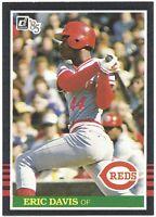 1985 Donruss Eric Davis Vintage Baseball ROOKIE RC Card #325 Reds - NM-MT MINT