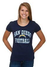 WOMEN'S NFL SAN DIEGO CHARGERS FRANCHISE FIT T-SHIRT SIZE M L XL 2X