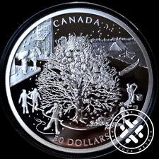 Canada 2006 $50 5 oz Proof Four Seasons Silver Commemorative Coin - Box & COA