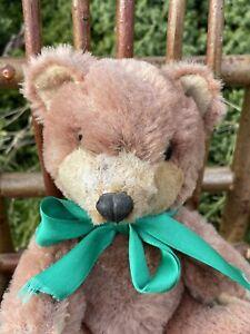 """💙🤎💙   Dibbles    8.5"""" Vintage Old Loved German Teddy Bear 💙🤎💙"""
