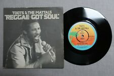 TOOTS & THE MAYTALS reggae got soul ISLAND RECORDS 7-inch Promo WIP 6269!