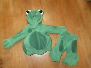 Old Navy Fleece FROGGY Frog Costume  3-6 Months Warm!!