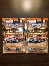 Matchbox Cadillac Set Cadillac Eldorado Convertible Lot Of 2 Free Shipping