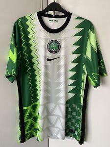 Nigeria Nike Home Football Shirt 2020 - Men's Medium