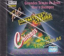Los Pasteles Verdes  Los Terricolas Grandes Temas De Ayer Hoy Y Siempre CD New