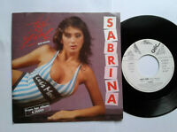 "Sabrina / Hot Girl 7"" Vinyl Single 1987 mit Schutzhülle"