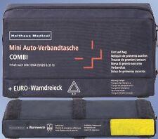 Holthaus Mini 3 in 1 Verbandtasche + Warndreieck + Warnweste Din 13164 #2554