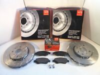 Toyota Aygo Front Brake Discs and Pads Set Vented 2005 Onwards APEC