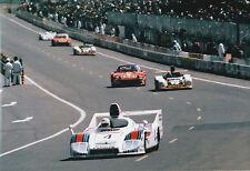 MARTINI PORSCHE 936 #4 1977 ICKX PORSCHE WERKFOTO PHOTOGRAPH 50 YEARS @ LE MANS