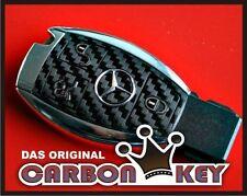 #006 MERCEDES C w204 CLK w209 CLS AMG Brabus clé décor Carbonoptik