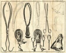 Framed Print – 1800s Medical Equipment Obstetrical Forceps (Picture Child Birth)