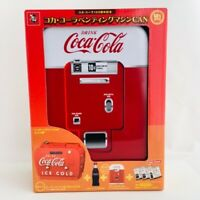 Coca-Cola 120th Memorial 50's Vending Machine Tin Box with Special Goods Japan