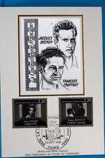 FRANCOIS TRUFFAUT   CINEMA  FRANCE CPA   Carte Postale Maximum  Yt  2443 C