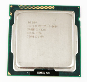 Intel Core SR00B i7-2600 3.40GHz 8MB Socket LGA1155 Quad Core Processor *TESTED*