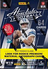 2017 Panini Absolute Football sealed blaster box 8 Packs of 8 NFL cards