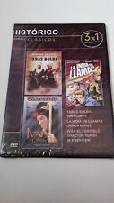 "DVD ""IVAN EL TERRIBLE PARTE 1 Y 2 / TARAS BULBA/LA INDIA"" PRECINTADA EISENSTEIN"
