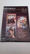 """DVD """"IVAN EL TERRIBLE PARTE 1 Y 2 / TARAS BULBA/LA INDIA"""" PRECINTADA EISENSTEIN"""