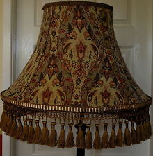 "STUNNING PREMIUM 16"" LAMPSHADE IN ANTIQUE GOLD HAND MADE PLUS FULLY LINED UNIQUE"