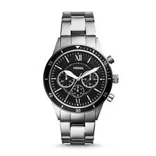 FLYNN SPORT CHRONOGRAPH SILVER STAINLESS STEEL WATCH