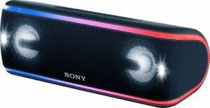 POWERFUL SONY SRS-XB41 PORTABLE BLUETOOTH / NFC SPEAKER W/ LIGHTS & STROBES