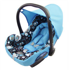 Bambiniwelt Replacement Cover Set Maxi-Cosi Cabrio Fix Carry Cot Blue Bubbles