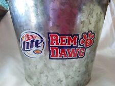 RemDawg * #2 Jerry Remy-Boston Red Sox* Miller Lite Beer Ice Bucket 5.75 Quarts