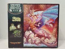 Dragon Isle - 500 piece puzzle - glow-in-the-dark puzzle