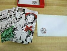 Box Set 15 Vintage Style Black and White Christmas Holiday Cards By Home RiteAid