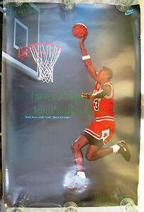 Vintage Original NIKE Poster Beam Me Up Scottie Pippen Chicago Bulls STAR TREK!