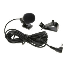 External Mic for Car Bluetooth Stereo GPS Radio Receiver 3.5mm Right Angle