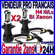 LAMPADINA 2 LAMPADA FARO FUOCO DI RICAMBIO PER IL KIT BI XENO HID H4 Hi/Lo 6000k